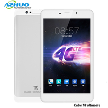 Original 8 inch Cube T8 ultimate Dual 4G Phone Call Tablet PC Android 5.1 MTK8783 Octa Core 2GB RAM