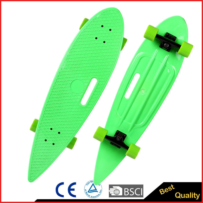 promotion wholesale plastic skateboard longboard