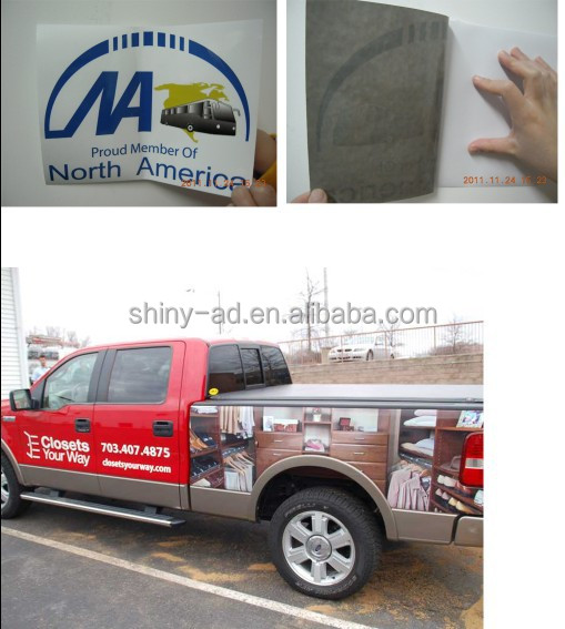 advertising vehicle back graphic stickers