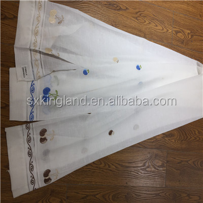 4X1 polyestser poly slub curtain fabrics for window curtains