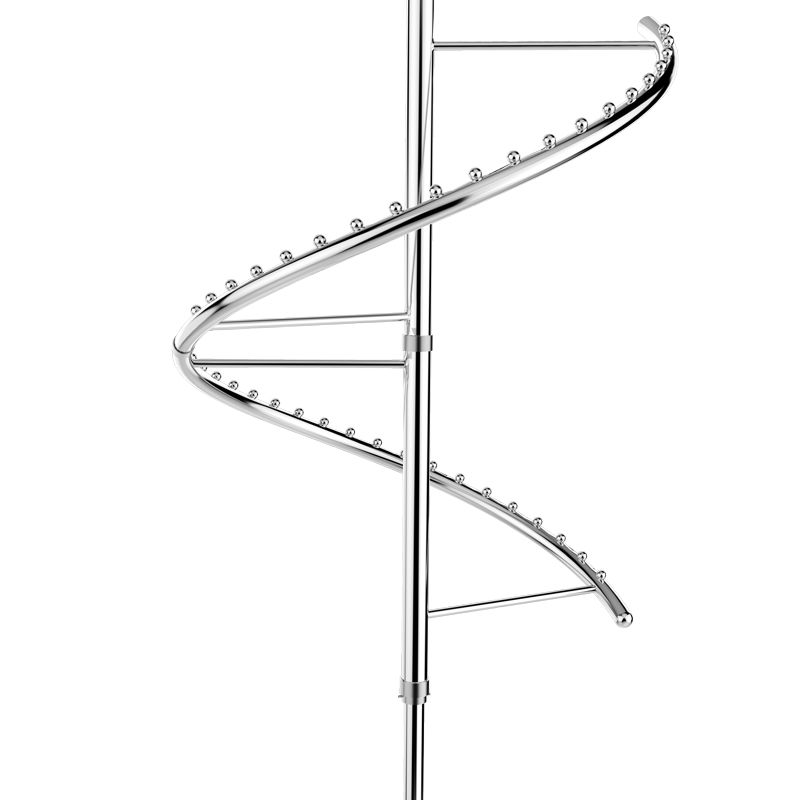 Spiral clothes rack Rotating Cabinet clothes hanger Wardrobe accessories fitting hardware