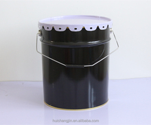 Metal Bucket for Paint/Coating with lid and handle