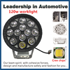 New 120w Car Led Tuning Light/led Work Light 120 Watt/ 12v Led Worklight Lamp