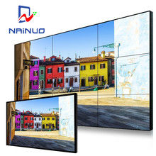 55 inch video wall size LG narrow bezel 3x3 video z-wave wall controller
