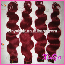 New products most popular 3 bundles red brazilian hair weave