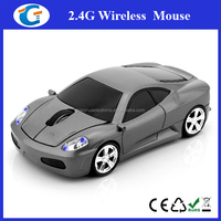 Cool 2.4g wireless car shape optical mouse