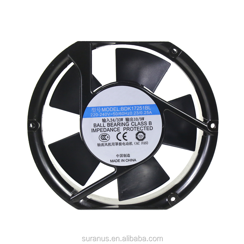 Hot Sale 17251mm110v AC Axial Cooling Fan