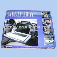 folding car multi tray,multi function car seat tray