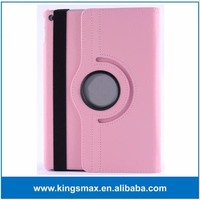 Pink Factory Price 9.7inches Tablet Housing Case 360 Degree Rotating Shell Case for iPad Air