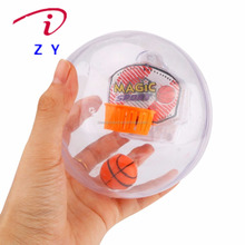 Mini Handheld Palm Basketball Toys/Electronic Fingertip Basketball Palm Shoot Game Toys with Light and Music
