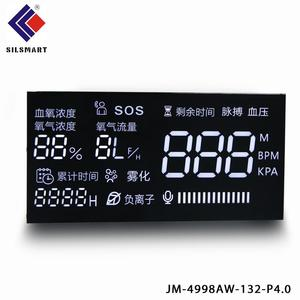 yellow green Common Anode large digital wall clock time 7 segment led display for ceiling light fixtures