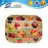 Promotional storage plastic deep rectangle vegetable tray