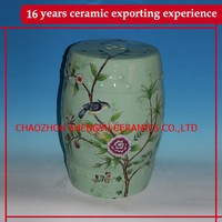 Hand painted home and garden decorative stools