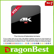 Android game player internet H96 pro S912 2g 16g tv box with KODI 17.0 tv box