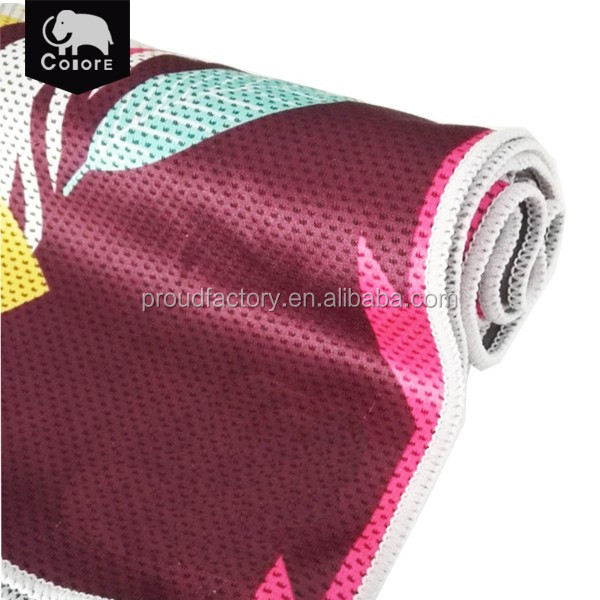 Best sale high quality sports breathable mesh cooling towel