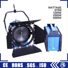 Guangzhou wholesale 575w 1200w 2500w 4000w hmi fresnel studio light for sale