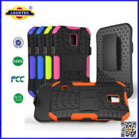 2 in 1 Plastic Silicon Combination Hard Case for Samsung Galaxy S5 Active High Quality Shockproof Case Cover Laudtec