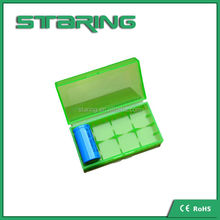 Wholesale Plastic 18650 Battery Case for All Kinds of 18650 Batteries