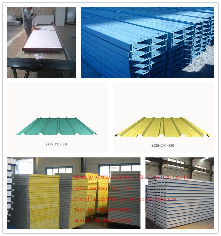 Light cheaper prefab workshop building / famous steel structure buildings / warehouse / plants / office