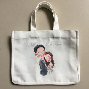 wholesale Custom small Canvas Cotton Muslin shopping Bags