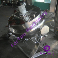 industrial steam jacketed cooker