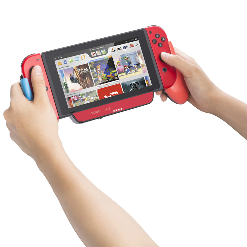 Host multi-function Charger handle battery charging Gamepad Controller 10000 mAh with stand For Nintendo Switch NS Console