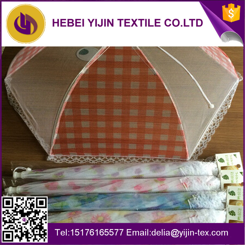 Hebei Yijin Textile Supply umbrella polyester mesh fabric food cover