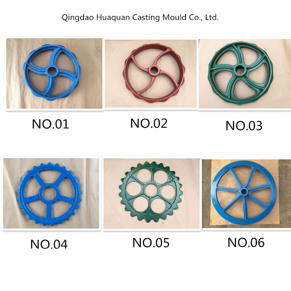 farm Cultivator cast iron wheels