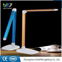 Portable Luminaire High Efficiency Touch Dimmer Folding Modern Rechargeable LED Table Lamp 2016 for Reading Working Light