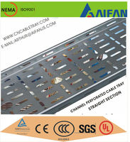 Qualified supplier of global construction firms cable management system metal cable tray