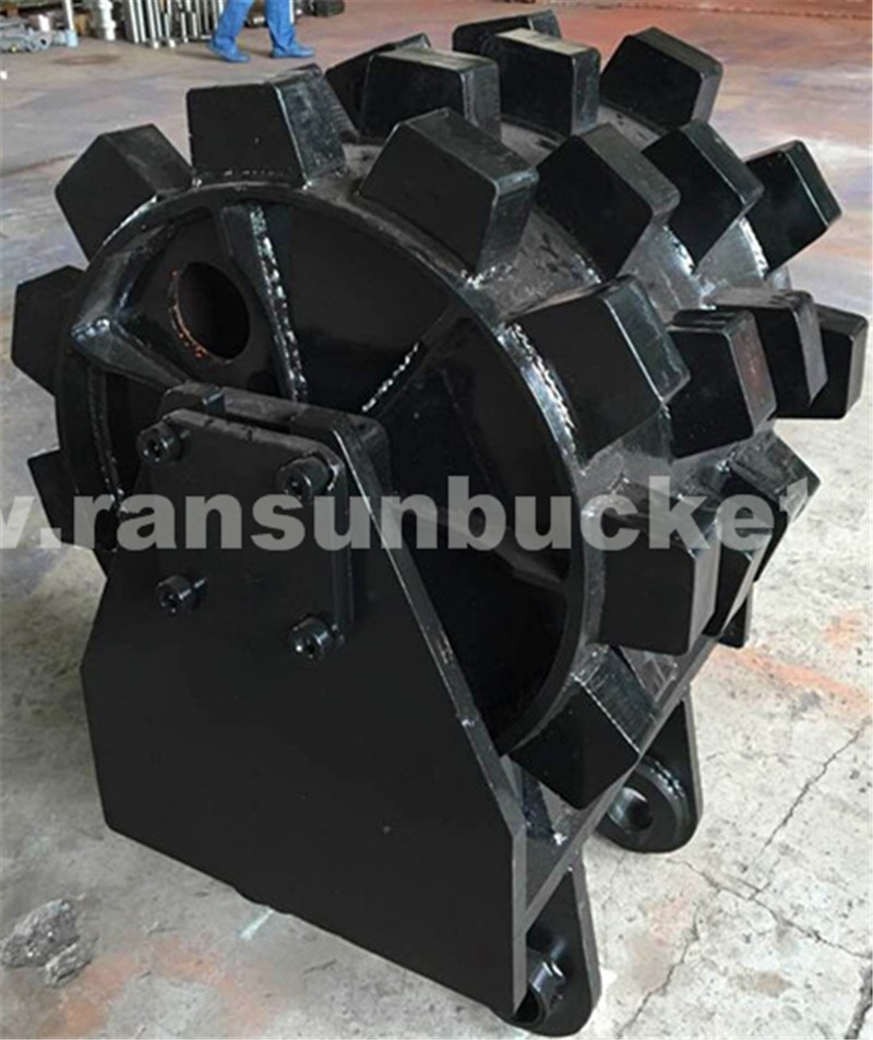 Bottom price high-strength compactor wheel for any size excavator