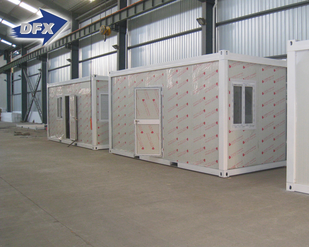 Prefab Houses Low Cost Cheap Steel Living 20Ft Container House