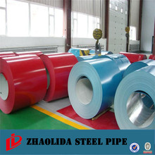 latest building materials ! prepainted galvanized iron plate printed color-coated galvanized steel coils