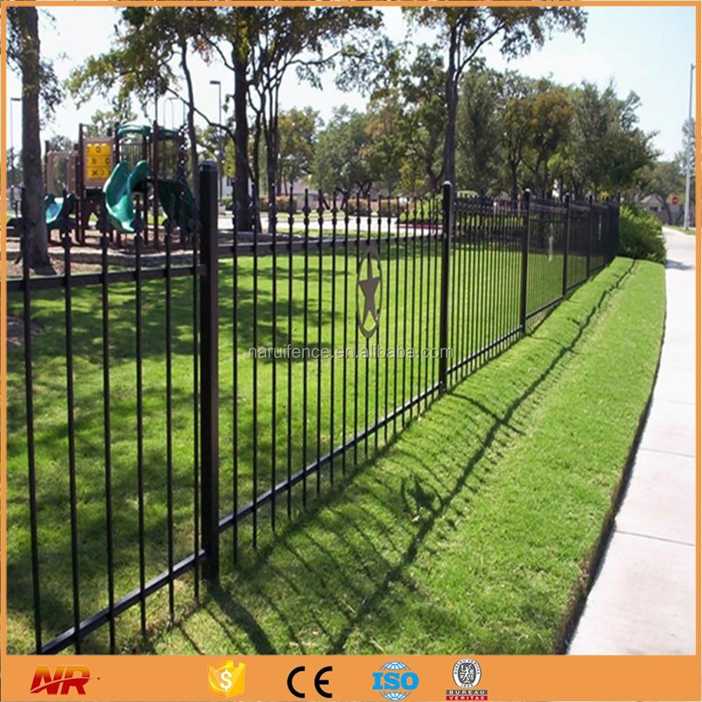 Powder garden edge short used wrought iron fencing buy