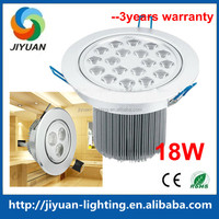 Energy Saving Ultra Bright 18w Recessed Led Ceiling Panel Down Light Lamp Halogen Bulb Replacement 6000K