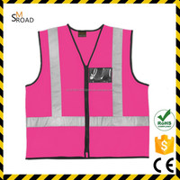 CHEAPEST high reflective vest gray reflector durable Highway mesh new style fashion safety vests