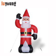 Inflatable Santa Claus 235 cm with Lighting,8 ft Christmas Inflatable Santa Claus,giant inflatable santa claus