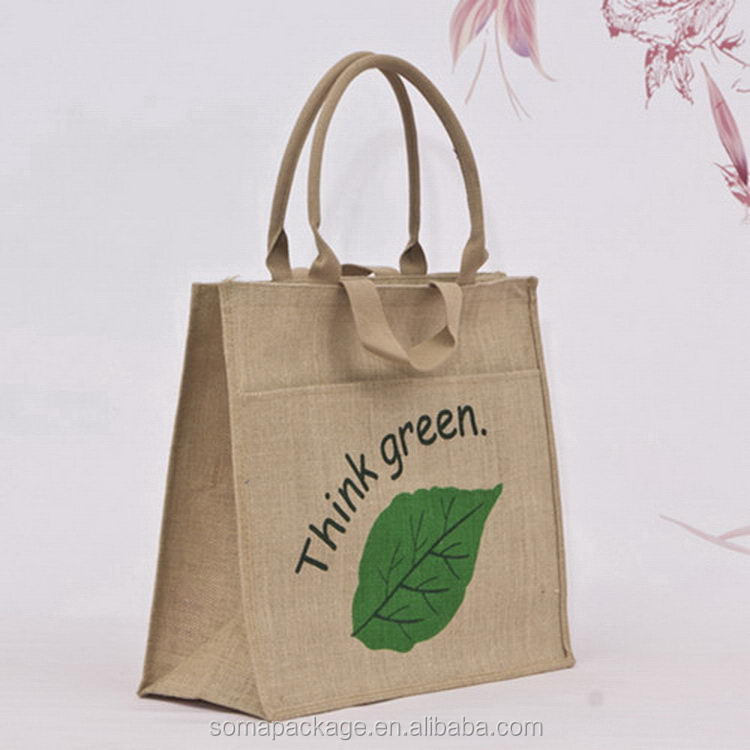 Top quality best sell natural jute bags wholesale