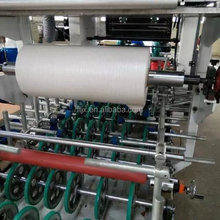 PVC foil for profile wrapping machine for PVC profile production line