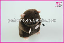 2013 bear cry plush toy for cat with catnip