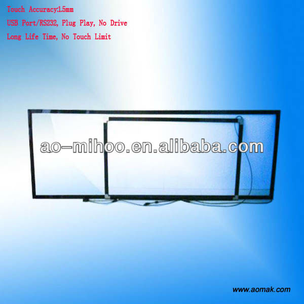 Outdoor Water-proof Multi Touch Screen Overlay