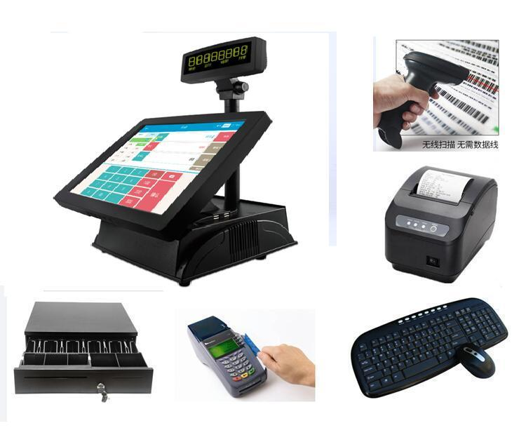 Best selling Retail Touch Screen Desktop pos terminal Kiosk with low price