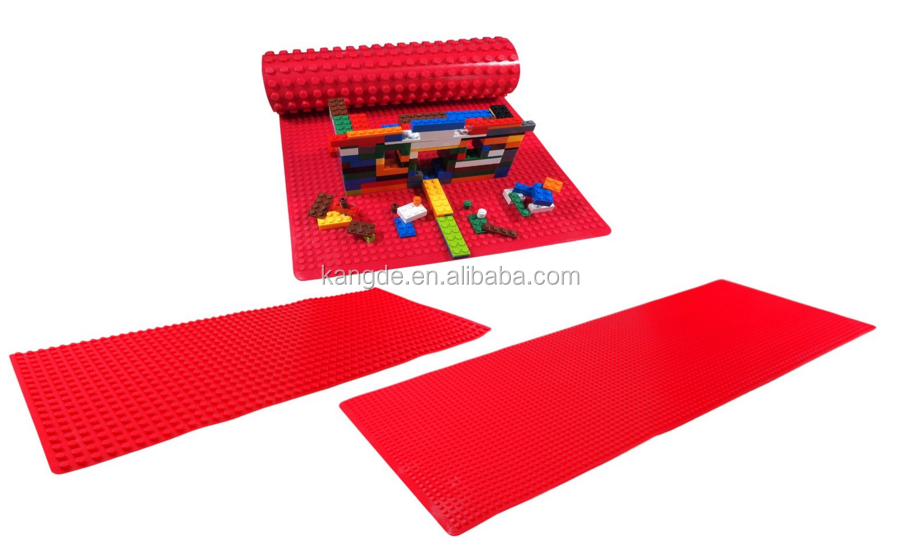 Silicone Brick Building Play Mat/Silicone Compatible ...