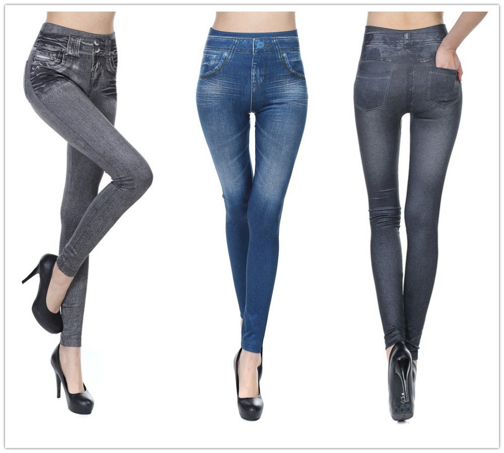 XXX USA Sexy Ladies Leggings Sex Photo Women Jeans Fashion New Style leggings