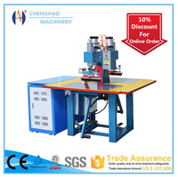High quality pedal style high frequency welding machine for conveyor belts