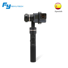 Feiyu Tech G5 splash proof gimbal 3-axis handheld gimbal stabilizer for go pro 5 Yi cam 4K AEE other cameras action camera