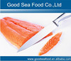 Frozen Atlantic salmon fillets/protion
