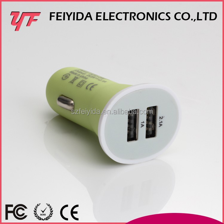 2015 Promotional 5V/1A Portable Micro battery car charger for mini cooper