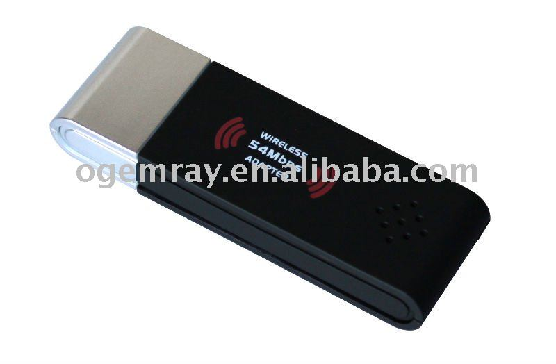 54Mbps wireless USB stick FCC,CE,ROHS PASS
