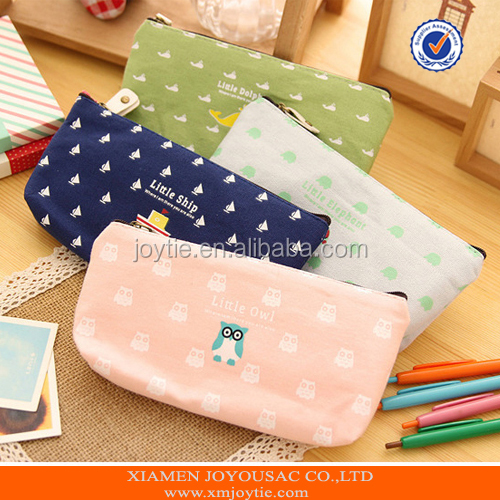 Beauty Wholesale Canvas Travel Cosmetic Bag/Case